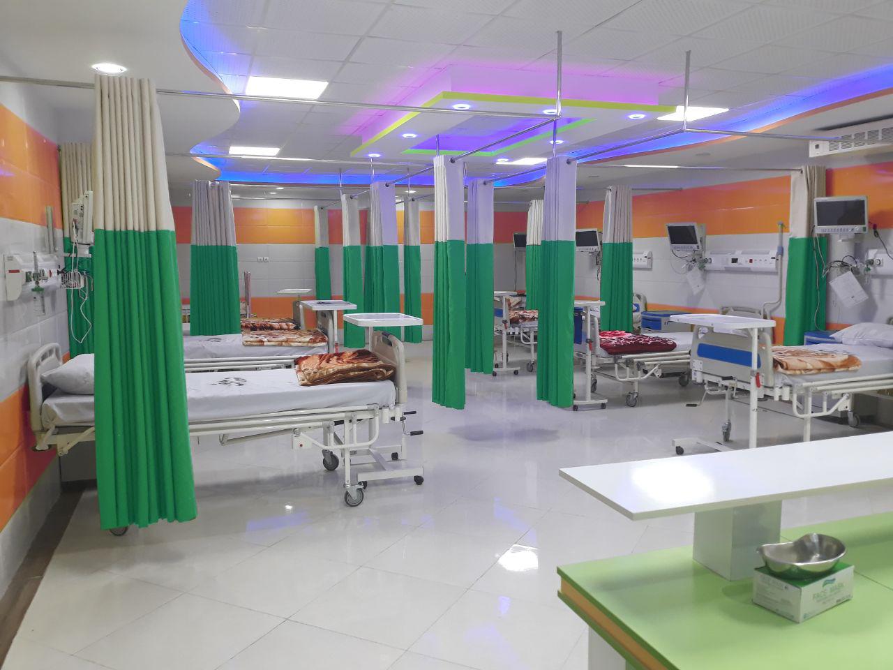 پرده آنتی باکتریال بیمارستانی شرکت رادمان نوین