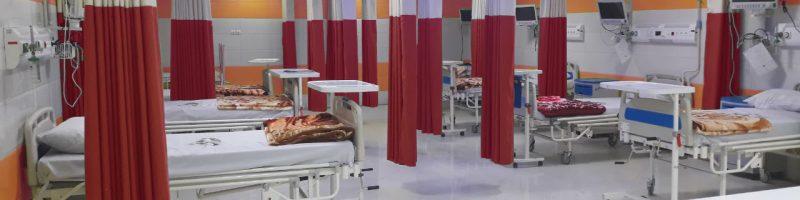 پرده بیمارستانی شرکت رادمان نوین