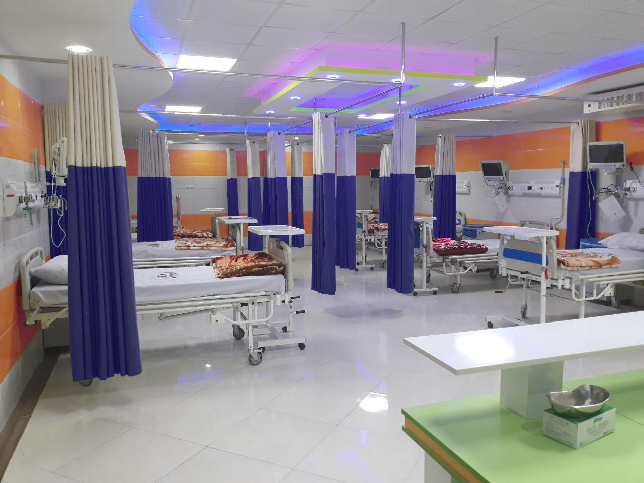 پرده بیمارستانی آنتی باکتریال رادمان نوین