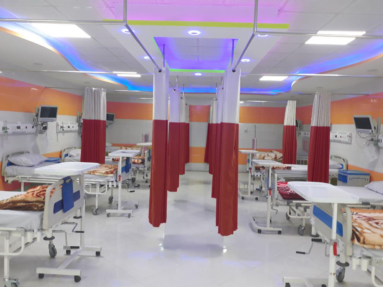 پرده بیمارستانی با کیفیت